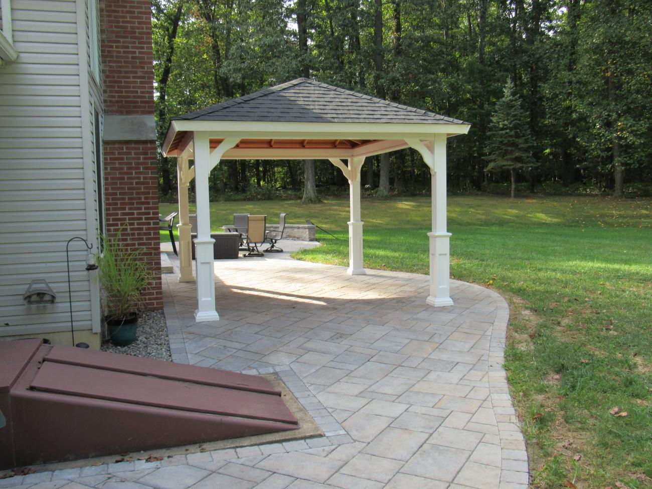 Vinyl Pavilions | Lykens Valley Gazebos and Outdoor Living Products