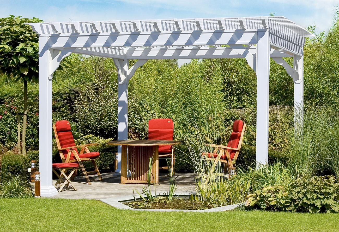 Vinyl Pergolas | Lykens Valley Gazebos and Outdoor Living Products