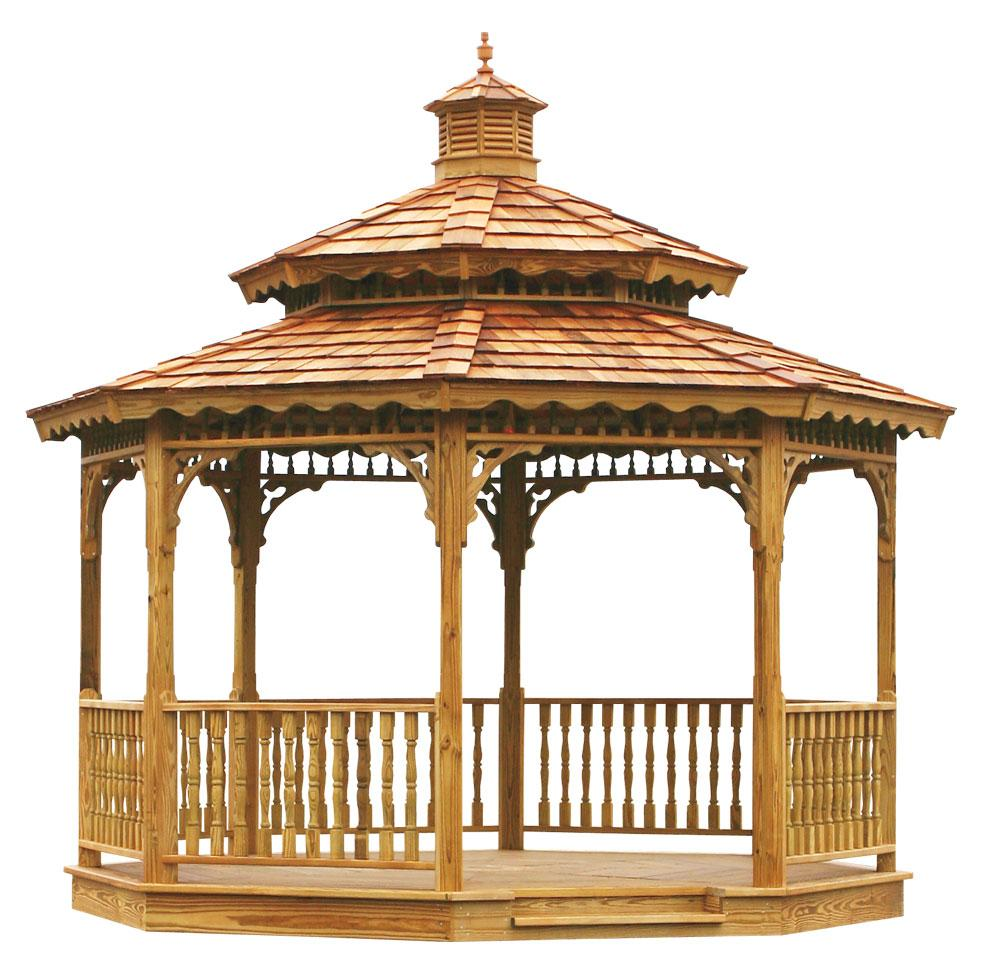 wood gazebos lykens valley gazebos and outdoor living products